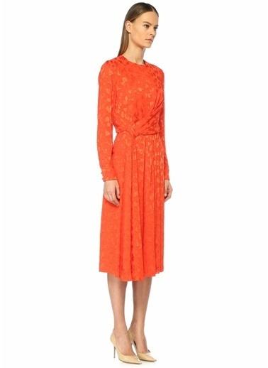 Carolina Herrera Elbise Oranj